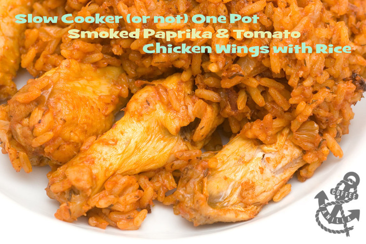 slow cooker recipe one pot recipe for chicken wings with rice