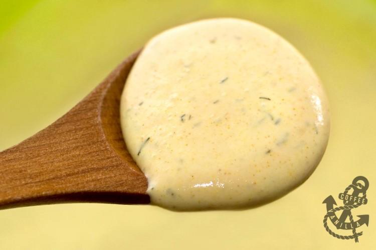 quick Dijon mustard sauce
