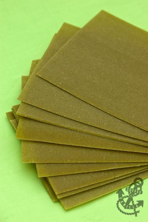 green lasagne sheets