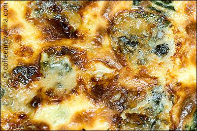 blue cheese quiche recipe