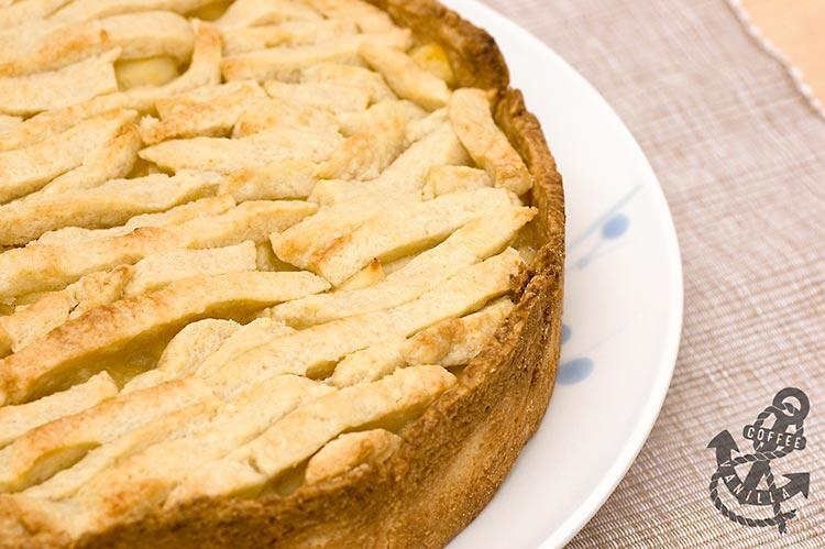 Polish apple pie