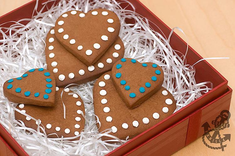handmade cookie gift box