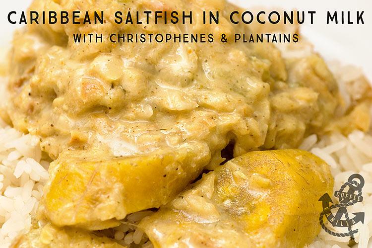 Caribbean saltfish stew recipe