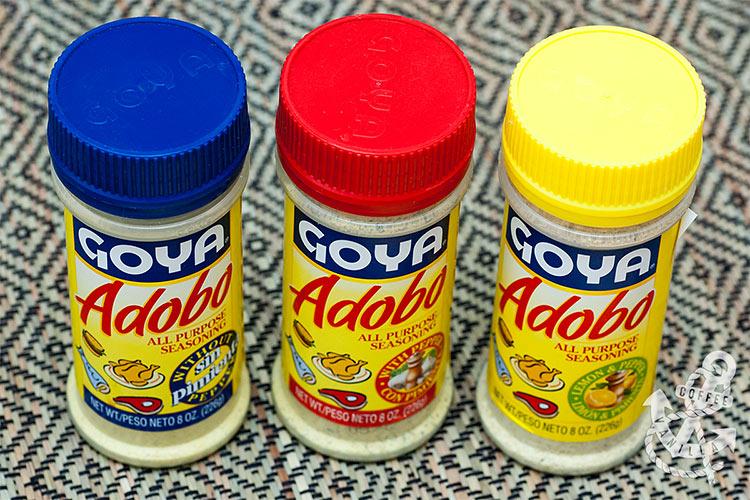 Caribbean And Latin American Seasoning Mix Adobo Coffee Vanilla