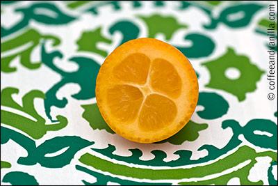 kumquat macro image