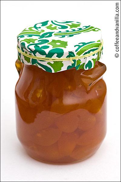 jar of kumquat jam