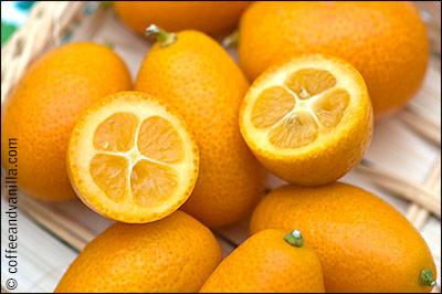 miniature citrus fruits called cumquats