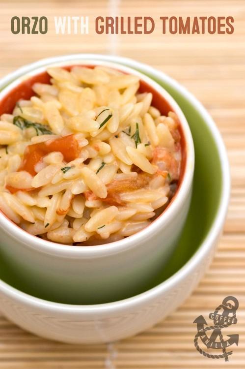 Italian rice shaped pasta recipe