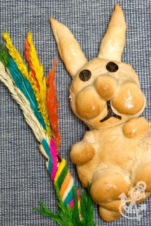 Easter bunny buns Easter bread bunnies