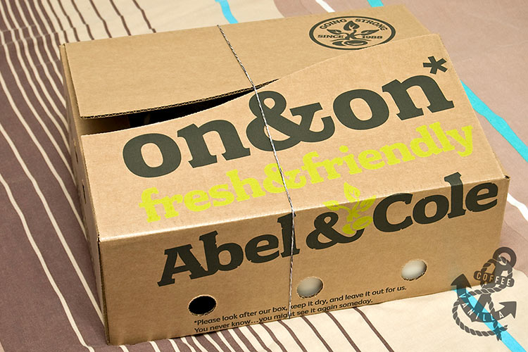 Abel & Cole delivery box