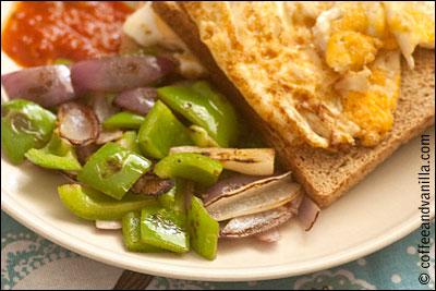 full English breakfast alternative fry up