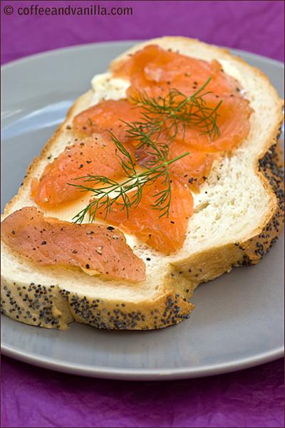 salmon dill black pepper salt