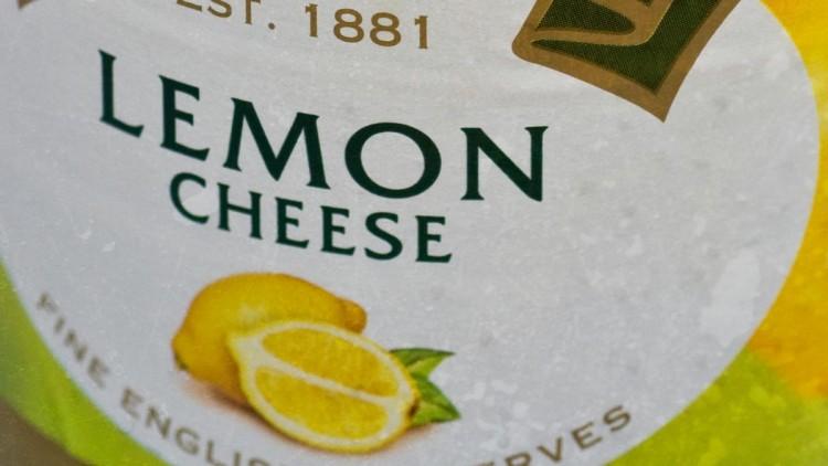Vanilla Buttercream & Lemon Cheese Triple Layer Cake Infused with Lemon Grass Tea