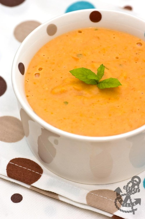 red lentil and mint soup recipe dip for tortilla chips