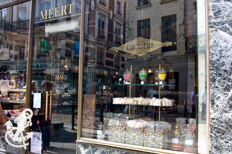 eurostar to lille day trip meert cake shop