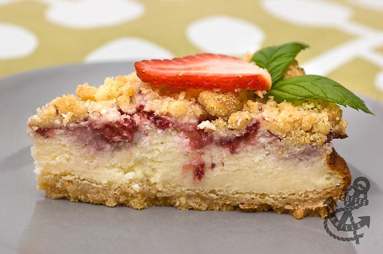 Polish strawberry cheesecake recipe