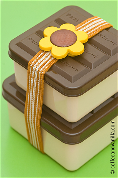 sunflower bento box belt