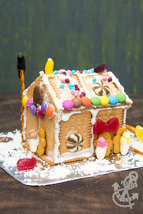 no bake gingerbread houses