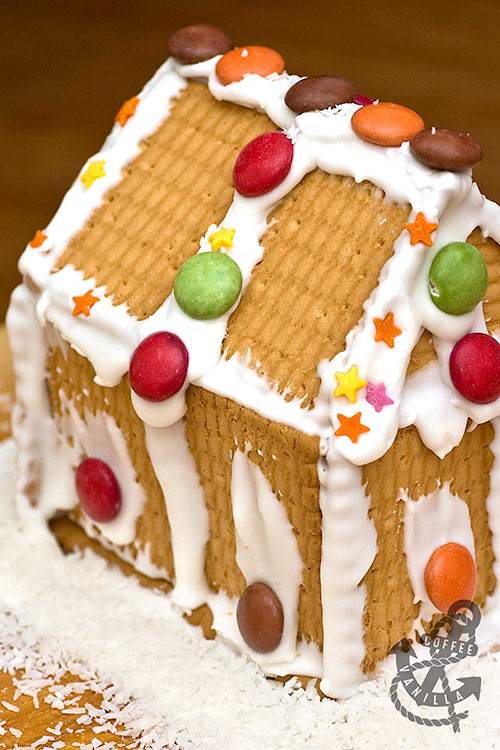 easy no bake cookie houses