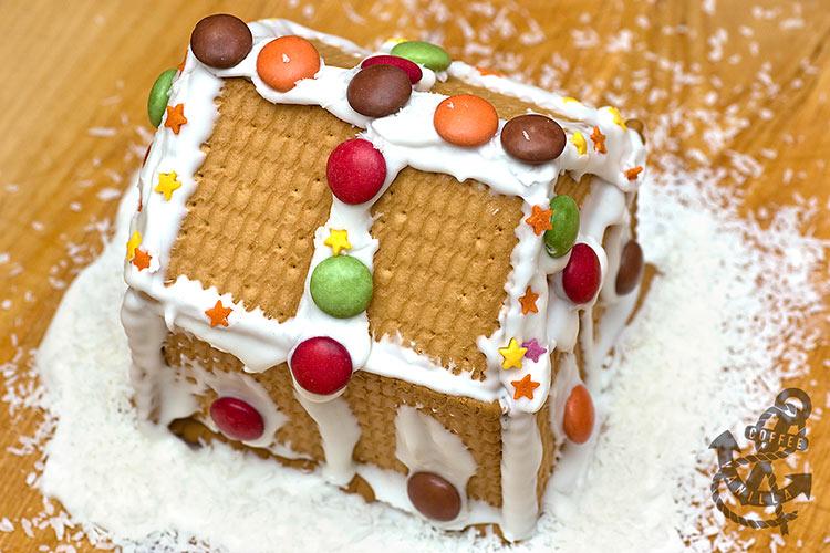 no bake diy gingerbread house