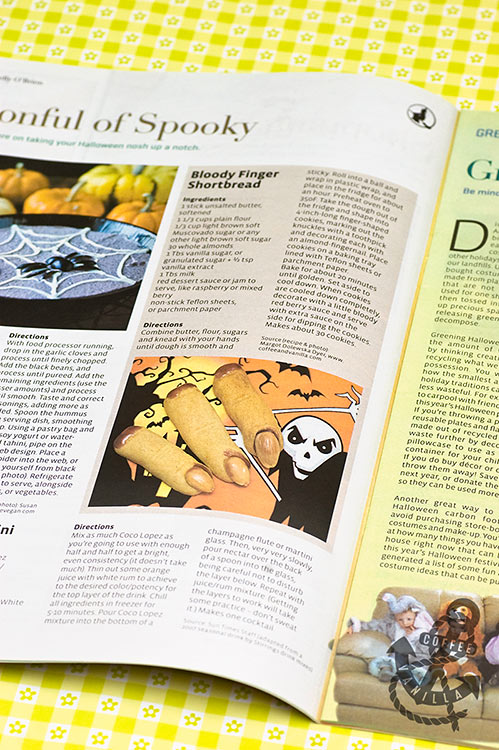 coffeeandvanilla.com recipe in print