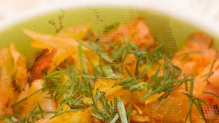Polish Style Young Cabbage with Tomatoes & Dill
