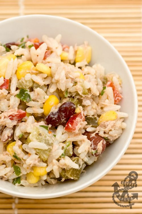 quick comforting and healthy salad recipe