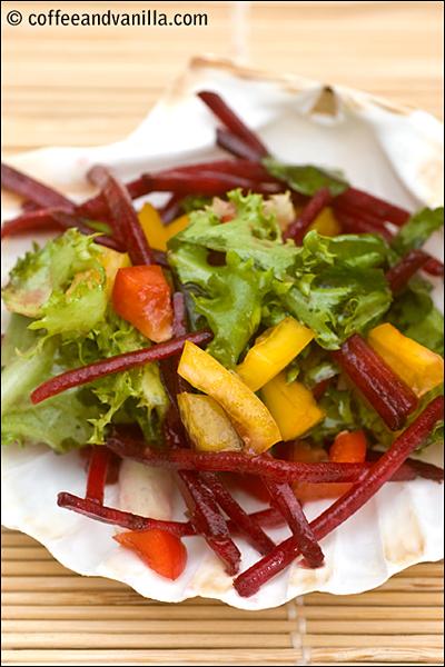 sweet & sour vinaigrette salad dressing recipe