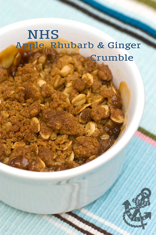 apple crumble recipe inspired by NHS food