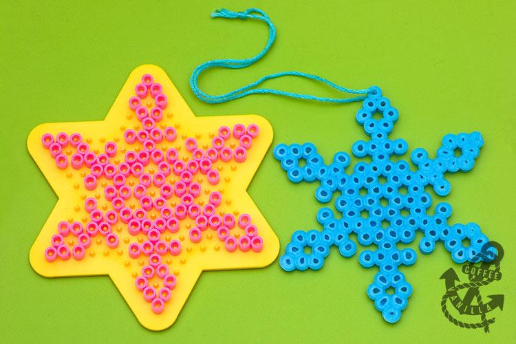 Christmas Hama bead patterns Hama Bead Pattern Snowflake