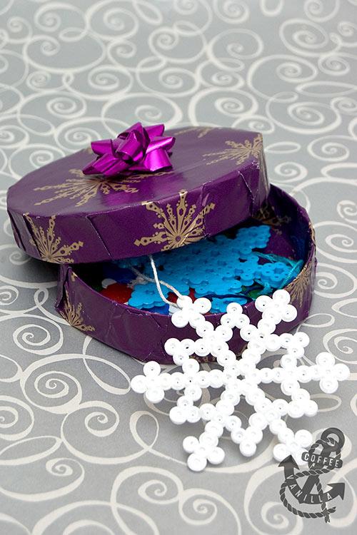 Hama bead snowflakes DIY Snowflake Christmas Tree Decorations