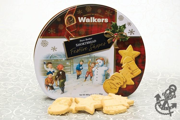festive cookies tin for Christmas