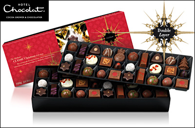 luxury chocolate gift box