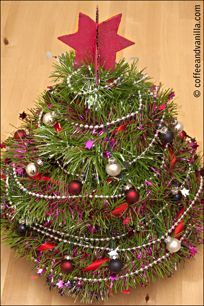 table Christmas decoration