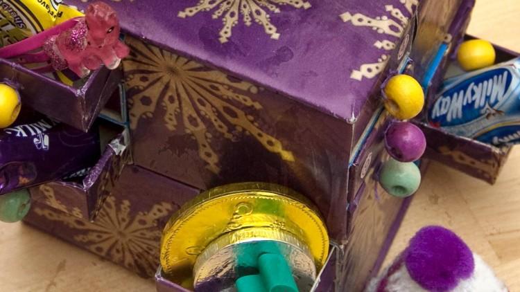Matchbox Christmas Countdown Calendar / Advent Calendar
