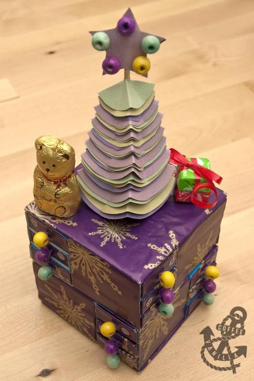 matchbox advent calendar craft