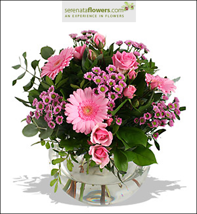 flower bouquet from Serenata Flowers