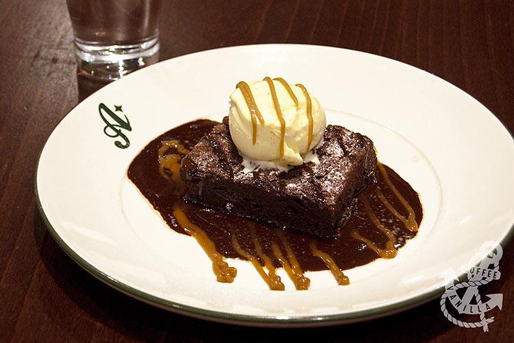 Bourbon Raisin & Chocolate Brownie