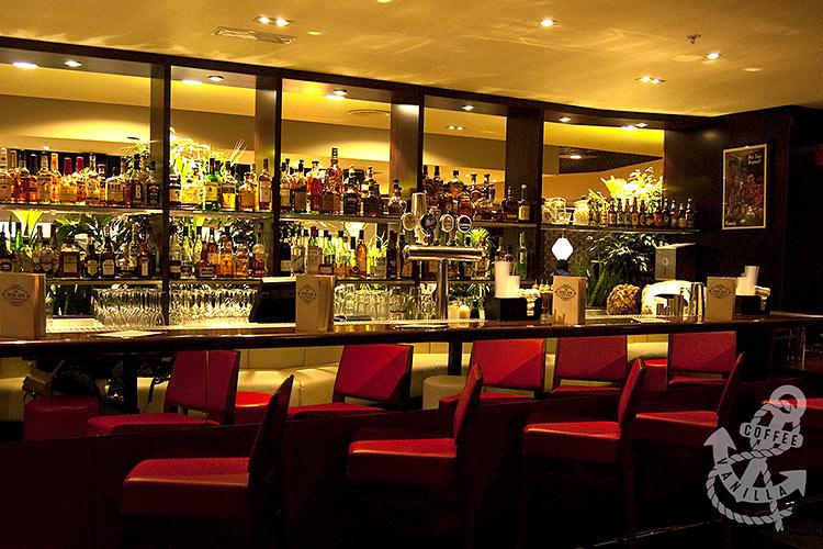 All Star Lanes bar