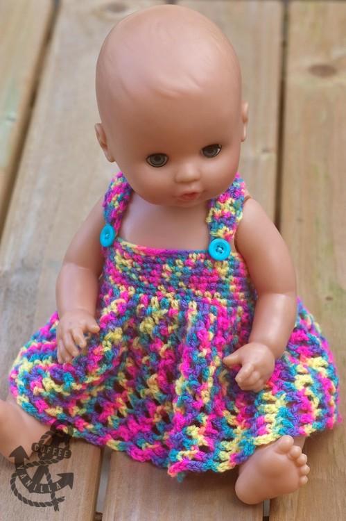 crochet doll dress patterns for barbies baby dolls teddies teddy bears