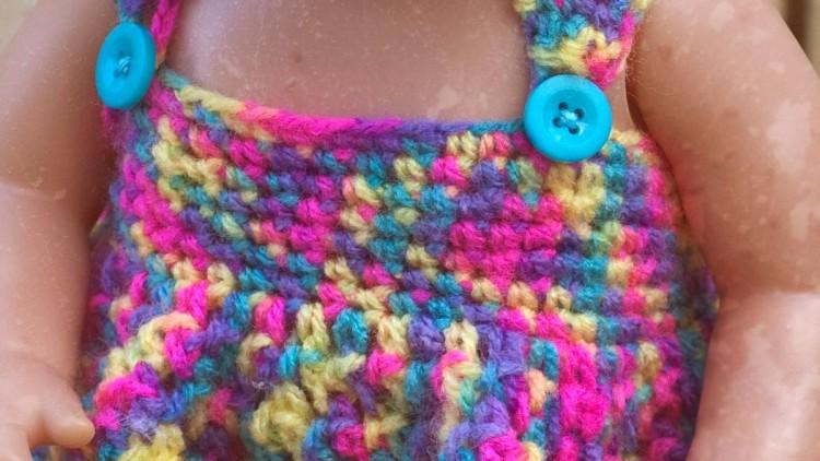 Doll's Dress Crochet Pattern For Baby Dolls & Teddy Bears