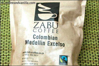 Colombian Medellin Excelso from ZABU