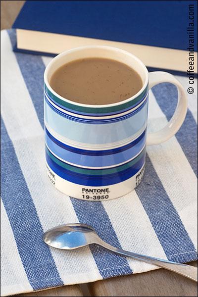panetone mug cup of coffee