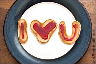 pancake love doodles
