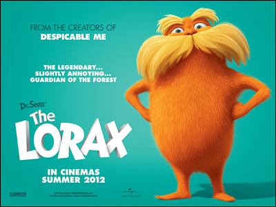 Dr. Seuss' The Lorax movie UK