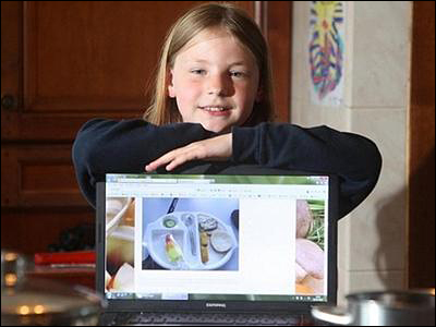 NeverSeconds blog by 9 year old Martha