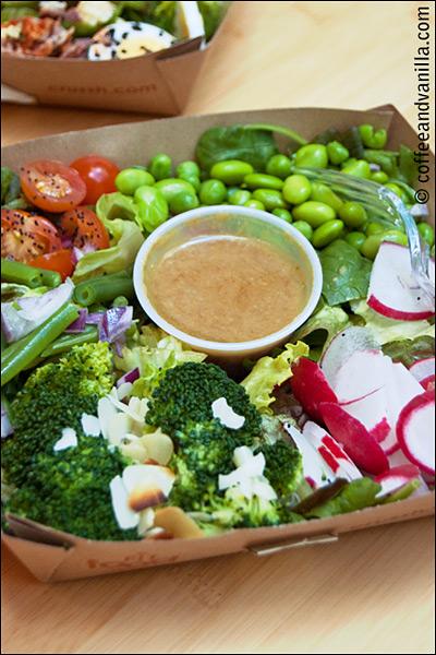 Super Greens salad at Crussh