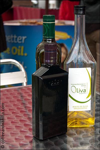 Spanish olive oil at Taste of London