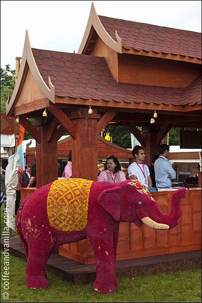 Thailand at Taste of London festival