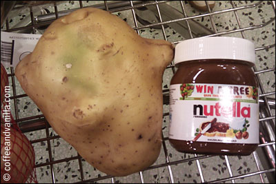 huge potato gigantic potato